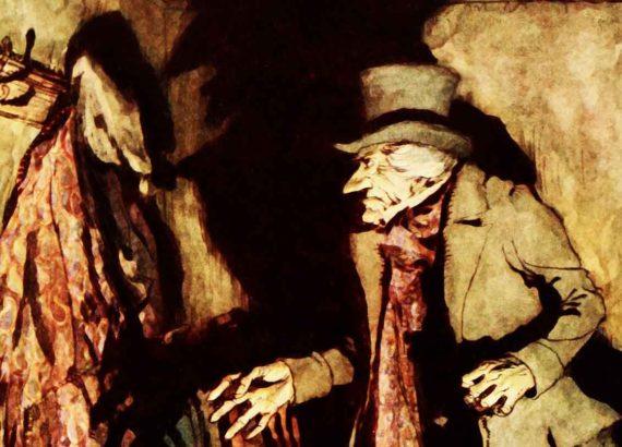 Charles Dickens, scrooge y los viajes en el tiempo